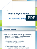 Simple Past - El Pasado Simple