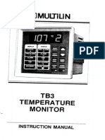 Multin TB3 Temperature Moniter