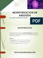 Monitoreo Anestesia