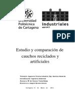 Estudio Caucho Reciclado - Artificial