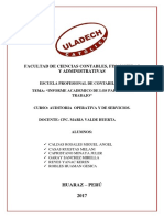 Informe Academico Papeles de Trabajo