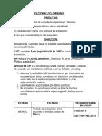 Trabajo Constitucional Colombiano - Imprimir
