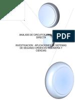 ANÁLISIS DE CIRCUITOS EN CORRIENTE DIRECTA