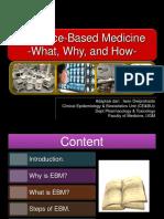 1. EBM- Introduction