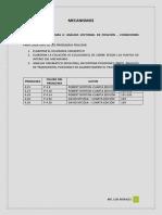 Solución de Problemas 6. Análisis Vectorial de Posición-condiciones Especiales