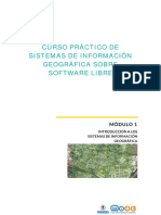 Lección 1. Concepto y Evolución de Los Sistemas de Información Geográfica