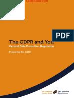 General Data Protection Regulation, 2018