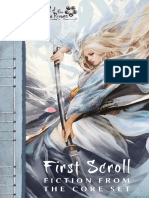 l5r First Scroll- Fiction From the Core Set