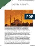 Menemukan Jati Diri Kita - Fethullah Gülen Situs Web