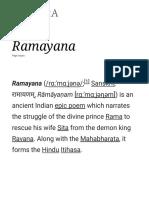 Ramayana - Wikipedia