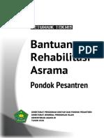 Juknis Rehab Asrama Ponpes 2018 Cover