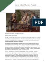 Carpio - Victoria y Derrota en El Debate Chomsky-Foucault