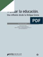 Pensar La Educación. Una Reflexión Desde La Antigua Grecia. Gastón H. Guevara