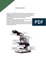 Partes Del Microscopio Óptico y Sus Partes