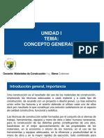 Plan de Clases - 1 Conceptos Generales