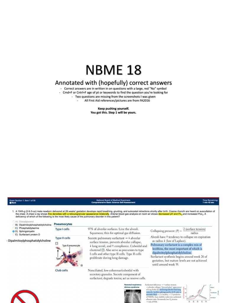 NBME 18 Answers | Kidney | Aorta
