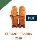 IX Reunión de Teoría Arqueológica de América del Sur