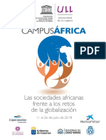 Programa-campusafrica 2018 Esp