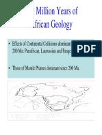 Africa Geology