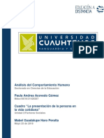Paula Andrea Acevedo 2.3 Cuadro Lapresentaciondelapersonaenlavidacotidiana