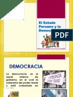 El Estado Peruano y La Democracia