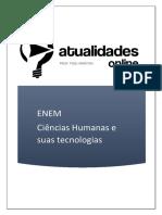 Guia Atualidades Online Ciências Humanas e Suas Tecnologias