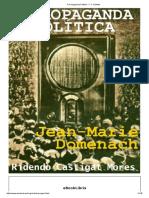 A Propaganda Política - F. C. Bartlett