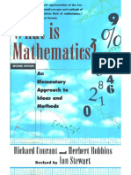 What is Mathematics_ an Elementary Approach to Ideas and Methods