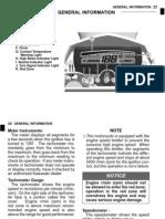 Kawasaki KLX250S Owners Manual - 07 General Information