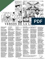 """Lira Popular """"Versos de la Laguna"""" N°5"""