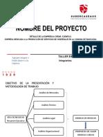Plantilla Modelo de Negocio Ppt