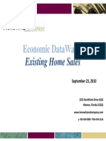 Economic DataWatch Exisiting Homes
