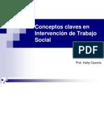 Conceptos Claves en Intervencion