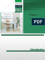 _Chap 01 Introduction to Business Analytics