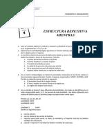 Practica 4 - Estructura Repetitiva Mientras