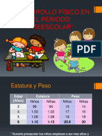 Etapa preescolar