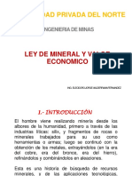 Ley Mineral Valor Econmico.pptx