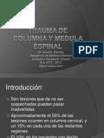 traumadecolumnaymedulaespinal-120928083413-phpapp01