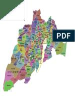 Mapa Tolima _Cundinamarca