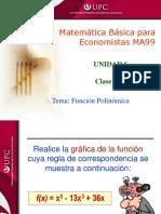 Clase 12.1 MBE Función Polinómica