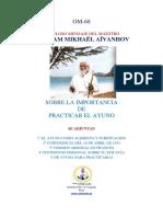 Sobre la Importancia de la Practica del Ayuno.pdf