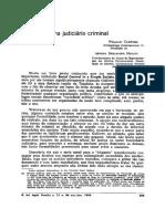 MIOTTO, Armida. Alternativas Para o Sistema Judiciário Criminal