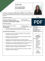 Curriculum Sandra Hernandez