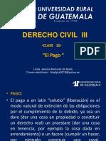 Derecho Civil III Clase 10