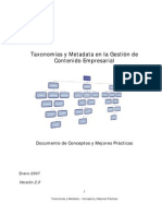 Taxonomias y Metadata - Conceptos y Mejores Prácticas v2