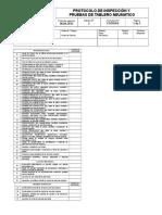 FO710 F6 Protocolo de Inspección y Pruebas de Tablero Neumático