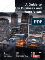 A Guide to Uk Business and Work Visas