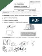Prueba Tecnología 1B Partes Del Computador (1) (1)