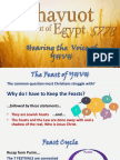 The Feast of Shavuot 5778