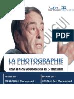 la photographie et P. Bourdieu